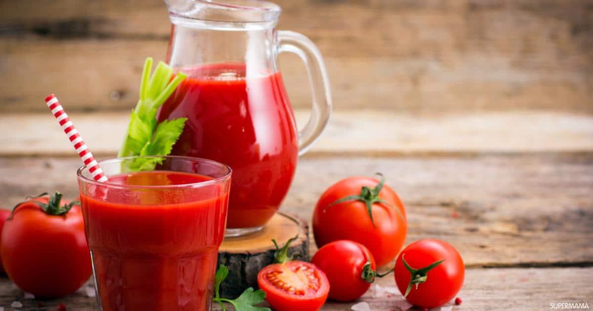 عصير الطماطم في المنام