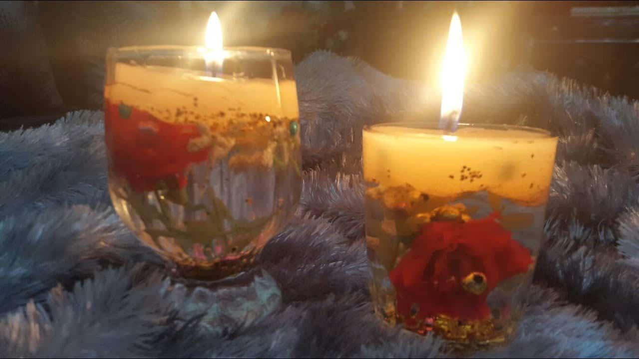 إشعال الشموع في المنام