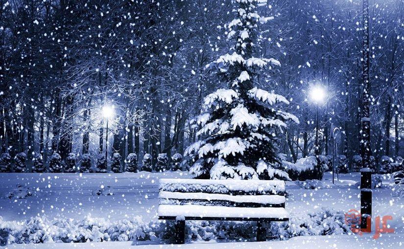 الشتاء الغزير في المنام