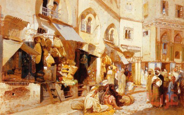 اشهر الادباء في النثر في العصر الجاهلي
