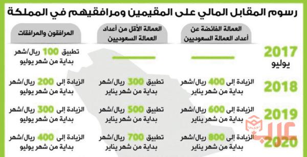 خدمة الاستعلام عن رسوم المرافقين عرب بوكس