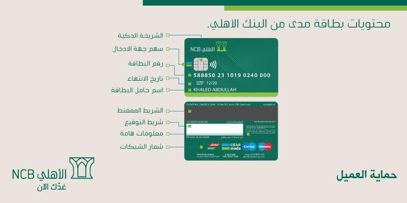 تفعيل واستخدام بطاقة مدى الاهلي للشراء من الانترنت عرب بوكس