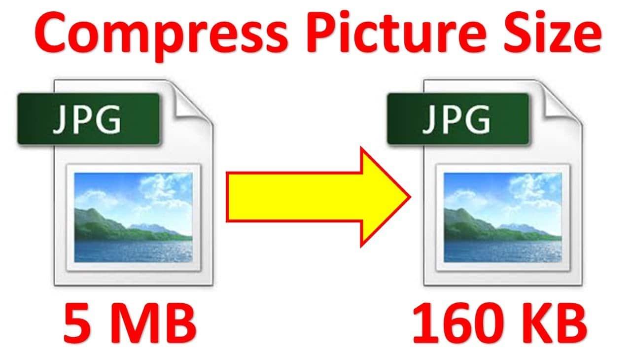 كيفية تصغير حجم الصورة بالكيلو بايت